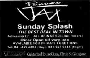 Panama Jax advert 1984