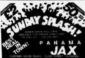 Panama Jax advert 1983