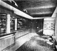 Interior view of the Pandora