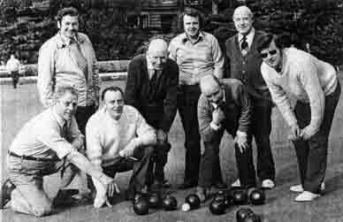 Partick Bowlers 1974a