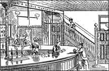 Interior view of the Rob Roy
