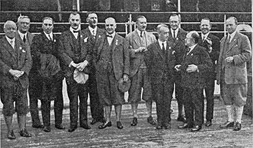 group of Scottish Benevolent members 1928