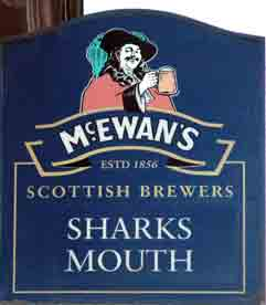 Sharks Mouth sign
