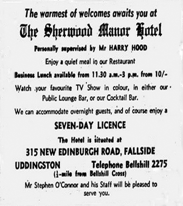 Sherwood Hotel Avert