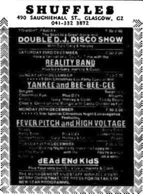 Shuffles advert 1978