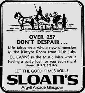 Sloan's advert 1977