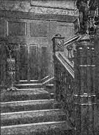 image of Sloan's Arcade Cafe staircase 1930s