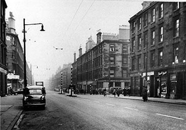 John W Souter corner of Crown Street and Cumberland Street 1960s.
