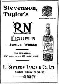 Advert for Stevenson Taylor