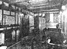 Interior view of the Tavern 1950