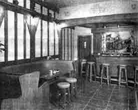 Interior view of the Tavern Cambuslang