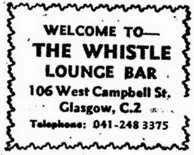 The Whistle Advert 1970