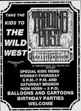 Trading Post advert 1988