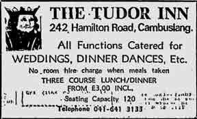 Tutor Inn advert 1979