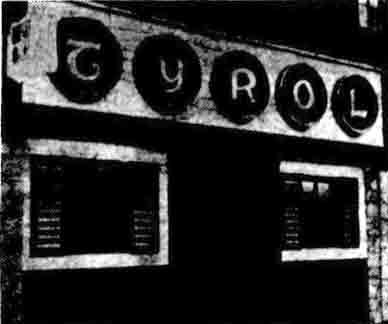 Tyrol Bar 1971