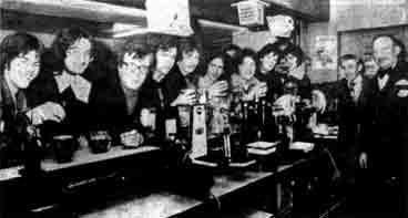 University Bar Glasgow University 1979
