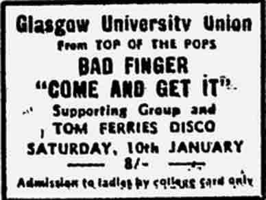 University advert