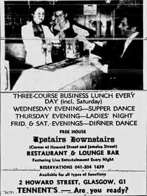 Upstairs Downstairs ad 1976