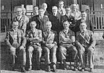 Glasgow Vintner's Golf Club 1946 with members including W T Doherty