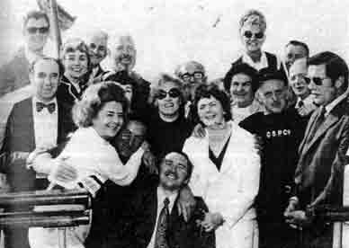 Group photo with Mr W Ruxton 1973