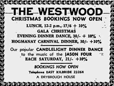 Westwood Advert 1970