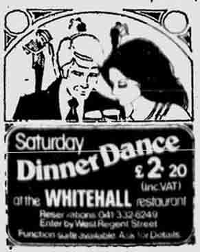 Whitehall advert 1974