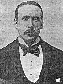 Mr William Reid Fleming proprietor of the Masons' Arms