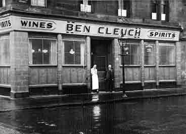 Image of the Ben Cleuch Bar Florence Street