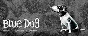Blue Dog Logo West George Street Glasgow