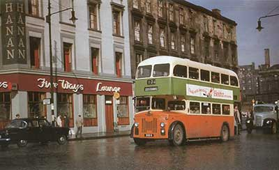 Fiveways Buchanan Street with bus
