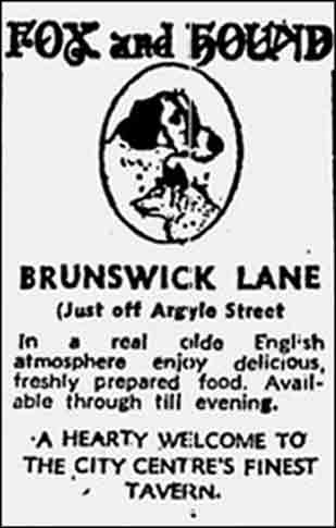 Fox and hound advert 1979