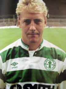 Frank McAvennie Celtic footballer