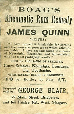 George Blair Advert