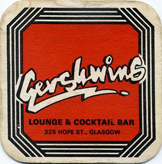 Gershwins Beer Mat