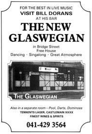 Glaswegian advert 1980s