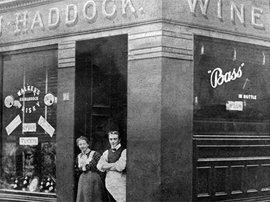 J Haddock's Bar 161 Gallowgate