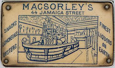 MacSorley's vest cash tin matchbox
