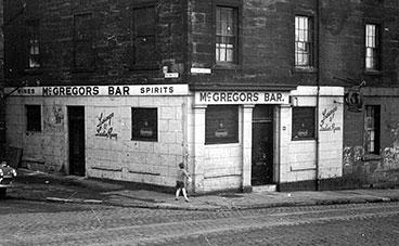 McGregor's Bar Colinto 1960sn Street corner of Payne Street
