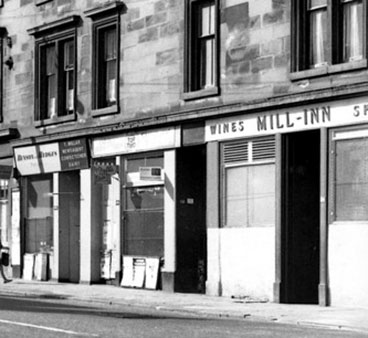 exterior view of the Mill Inn Pollokshaws Road