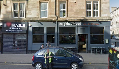 Neighbourhood Bar Argyle Street