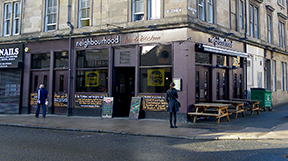 the Neighbourhood Bar Argyle Street 2012
