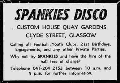 Spankies advert 1978