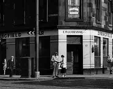 Springfield Bar Dalmarnock Road Glasgow