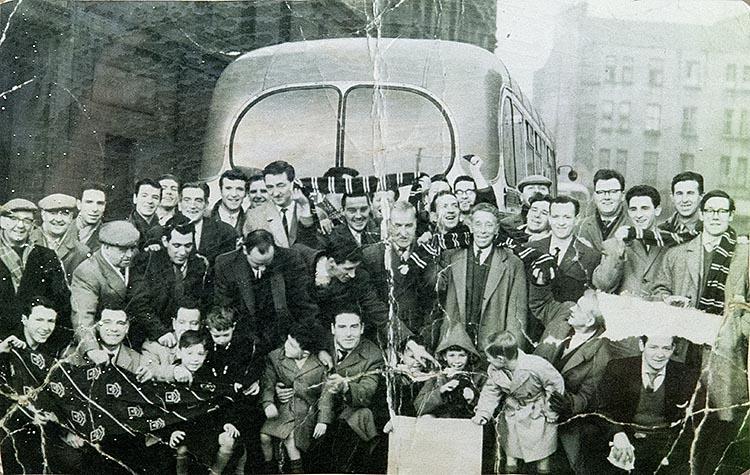 Stanley Bar Kinning Park Celtic Supporters 1960