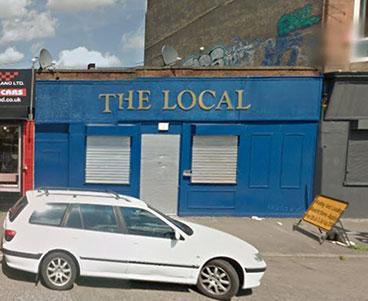 Exterior of the Local 42 Kingston Street Glasgow