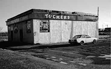 Exterior view of Tuckers from Caledonia Road.