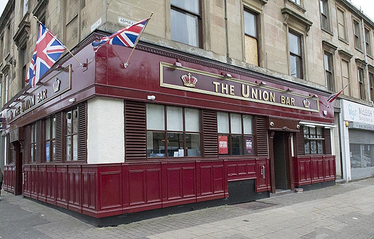 The Union Bar Paisley Road 2016