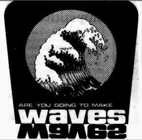 Waves advert 1975