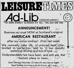 Ad-Lib advert 1979