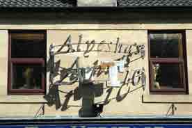 Alyeshas Attic sign